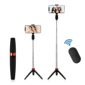 Y9 Wireless Bluetooth Selfie Stick Foldable Handheld Monopod Shutter Remote Extendable Compatible with iphone Android Huawei Phone