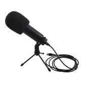 BM830 USB Microphone Professional Desktop Podcast Condenser Microphone with Folding Stand Tripod for PC Phone Karaoke Studio Recording