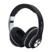 Fone de ouvido sem fio Bluetooth 5.0 em fones de ouvido com microfone