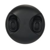 Echte drahtlose Bluetooth 5.0-Kopfhörer 360-Grad-TWS-Kopfhörer-Sport-Headset mit Mikrofon für Smartphones