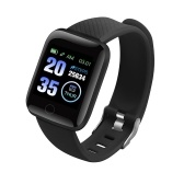 116plus 1.3in Intelligent Watches Heart Rate Monitoring Watch Sports Watches Wristband Waterproof Smartwatch