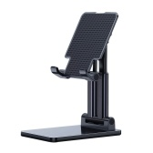 Desktop Tablet Mobile Phone Holder Stand Angle Height Adjustable Foldable Cell Phone Stand Compatible with All Mobile Phone/Tablet PC