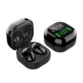 S6 Plus TWS Наушники Bluetooth 5.1 Беспроводные наушники с микрофоном Time & Power Цифровой дисплей Спортивные гарнитуры Музыкальные наушники для телефонов