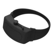 Braccialetto Dispenser per mani in silicone Braccialetto indossabile per disinfettante per mani Strumento di erogazione ricaricabile