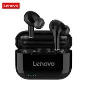 Lenovo LP1S TWS Наушники Bluetooth 5.0 Настоящие беспроводные наушники с сенсорным управлением Спортивная гарнитура IPX4 Наушники-вкладыши с защитой от пота с микрофоном Зарядный чехол 250 мАч