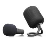 iK8 Wireless Karaoke Microphone BT Speaker Set Handheld Singing Recording Microphone Portable KTV Player for iOS Android Smartphones Tablet PC