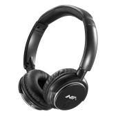 NIA Q1 Bluetooth-наушники Беспроводная стереофоническая музыкальная гарнитура Накладные наушники с TF-картой FM-радио Складные проводные наушники с управлением через приложение для микрофона