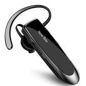 НОВАЯ Одиночная беспроводная Bluetooth-гарнитура BEE Наушники с шумоподавлением Микрофон Спортивные наушники Наушники громкой связи 24 часа вождения 60 дней в режиме ожидания для вождения в офисе