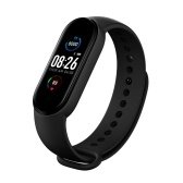 Pulseira M5 Intelligence Detector de pressão arterial de frequência cardíaca pulseiras pedômetro relógio esportivo pulseira à prova d