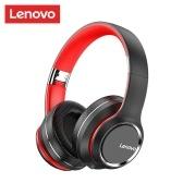 Складная накладная гарнитура Lenovo HD200 Беспроводные наушники Bluetooth 5.0 Спортивные музыкальные наушники 3,5 мм AUX IN MP3-плеер с микрофоном