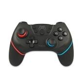 Controlador inalámbrico BT Game Joystick Gamepad con mango de 6 ejes Ergonómico Gamepad Compatible con Switch / Switch Lite Host Black