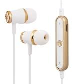 Fones de ouvido BT 4.1 com microfone