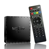 MX10 Mini Android 10.0 Smart TV Box UHD 4K Media Player Allwinner H313 Quad-core H.265 VP9 2GB / 16GB 2.4G WiFi 100M LAN Controle remoto