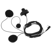 2Pin PTT Motorcycle Helmet Headset Interfono Cuffie con microfono per Kenwood BAOFENG Retevis Two Way Radio Walkie Talkie Due pin K Plug