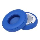 2Pcs Almofada de almofada de almofadas de substituição para batidas Solo 2/3 On Ear Headphones sem fio Preto