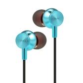Docooler Sport Bluetooth 4.1 Kopfhörer Drahtlose Musik-Headsets Metallkopfhörer mit magnetischer Absaugung mit In-Line-Mikrofon