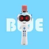 L838 Kids Wireles-s Micrófono Karaokes Player BT4.2 Speaker Treasure Magic Sound Singing Toy Portable Lightweight Birthday Party Navidad Family Garhering para Iphones Ipads Android Smart Phone PC
