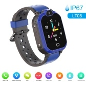 LT05 4G Intelligent Watch for Kids BT Video Call IP67 LBS Waterproof Anti-lost Children Smartwatch Support 11 Languages