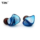 TRN IM1 Headphones 0.75mm 2pin Hybrid In Ear Wired Headset 3.5mm Jack HIFI Headphone Earhook for Smartphone MP3
