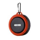 C6 Mini Wireless BT 5.0 Speaker IP65 Открытый водонепроницаемый портативный звуковой блок громкой связи с микрофоном USB аккумуляторная