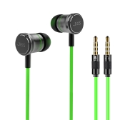JIES V5 3.5mm Gaming In Ear Écouteur avec Microphone