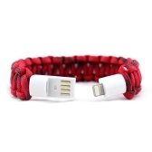 2 in 1 USB Lightening Charging Cable Bracelet