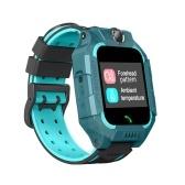 Intelligente Kinderuhr Jungen Mädchen Wecker Touchscreen Wasserdichte Armbanduhr Digitale Taschenlampe SOS Alarm Fernort Thermometer Uhr