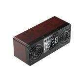 A10 Portable Bluetooth 5.0 Speaker Alarm Clock Radio Wireless Speakers Support TF Card U Disk AUX IN FM Radio for Smart Phone Tablet PC