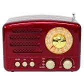 M-160BT USB BT Маленький портативный радиоприемник Портативный BT-динамик Ретро Радио Винтажное радио