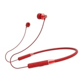 Auriculares Lenovo HE05 Auriculares inalámbricos Bluetooth5.0 Auriculares magnéticos con banda para el cuello IPX5 Auriculares deportivos impermeables con micrófono con cancelación de ruido