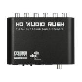 Звуковой декодер Rush SPDIF Коаксиальный до 5.1 / 2.1 канала DTS / AC-3
