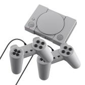 Игровая консоль PS1 Mini Два игровых контроллера Выход AV-видео Встроенные 620 ретро-игр с поддержкой двух игроков