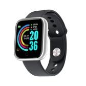 Y68 1.3in Интеллектуальные часы Часы с мониторингом сердечного ритма Спортивные часы Браслет Водонепроницаемые умные часы