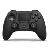 Wireless BT Gamepad Game Controller Ergonomic Game Handle with Touchpad Double Joysticks 600mAh Lithium Battery Black