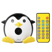 Q1 Mini DLP Projecteur Penguin 1080P Beamer 400 Lumen Portable pour Home Theater Conference Business EU Plug