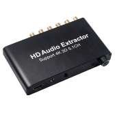 HD Audio Converter SPDIF w / 3.5mm Stereo HD Audio Adapter Estrattore HD Supporto 3D 4K