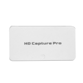 ezcap295 HD Video Capture Pro 1080P Recorder USB 2.0 Playback Capture Cards with Remote Control Hardware H.264 Encoding For Xbox 360 Xbox One PS4 Set-Top Box EU Plug White