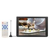 12,1 polegadas DVB-T2 / T TV Player portátil DTV ATV