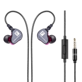 NABOLANG F910 Wired In-Ear Headphones com microfone