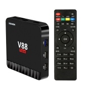SCISHION V88 Piano Smart 4 Go / 16 Go Android 7.1 TV Box RK3328