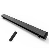 LP-09 Sound Bar Subwoof Bluetooth Speaker Home TV Echo Wall Soundbar Wall-mounted Remote Control U-disk Plugging Speaker