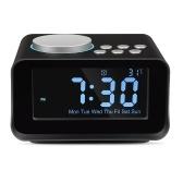 Rádio sem fio de mesa Bluetooth alto-falantes despertador FM Radio
