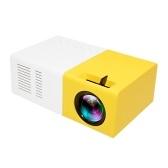 Мини-карманный светодиодный проектор 1080P с пультом дистанционного управления