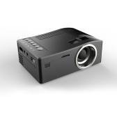 Mini projecteur LCD portable UC18 Home Cinéma 1080P US Plug UE
