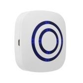 Inteligente Sensor de Alarme Campainha Sem Fio Plug-in Campainha Da Porta de Segurança Em Casa Infravermelho Detector Kits de Alerta com 2 Sensores PIR 1 Receptor 38 Chime Tunes LED Indicadores