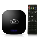 A95X F1 Android 8.1 TV Box Amlogic S905W Smart TV Set Top Box Telecomando Quad Core VP9 H.265 2GB / 16GB 2.4G WiFi 100M LAN Lettore multimediale HD Display LED