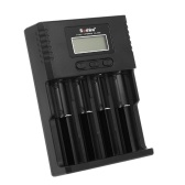 Soshine Universal Intelligent Battery Charger 4 Slots LCD-Display für Li-Ion LiFePO4 Ni-MH Ni-Cd Akku