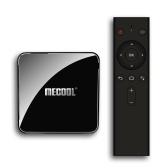 MECOOL KM3 Smart Android 9.0 TV Box Медиа-плеер Amlogic S905X2 4 ГБ + 64 ГБ Двойной Wi-Fi Bluetooth 4.0 Голосовой пульт дистанционного управления Miracast Airplay