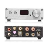 FX-Audio D802C PRO Audio Power Amplifier Wireless Bluetooth 4.2 Support APTX NFC USB /AUX/Optical/Coaxial Pure Digital Audio Amplifier 24Bit 192Khz