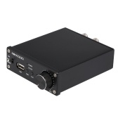 NIKKODO NK-368R Digital Audio Power Amplifier BT 4.0 Mini HiFi Audio Receiver Amp Dual Channel 50W + 50W with Power Adapter